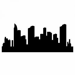 Силует на град