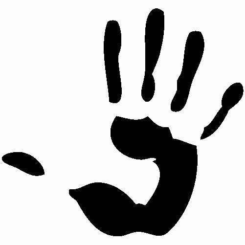 Отпечатък длан
