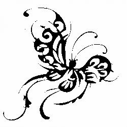 Орнамент пеперуда