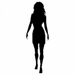 Силует жена