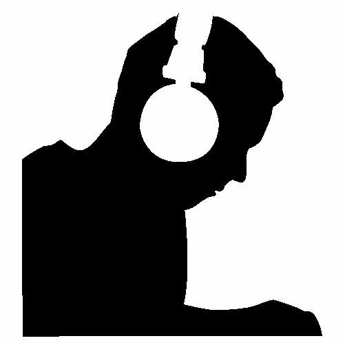 DJ със слушалки
