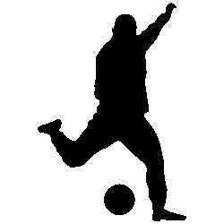 Футболист с топка