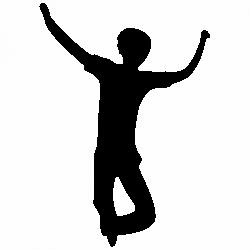 Скачащо дете