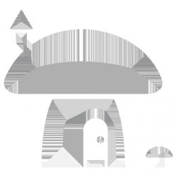 Гъбка къщичка