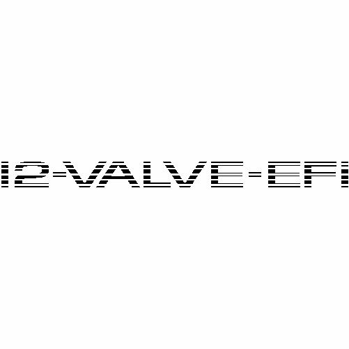12 valve efi