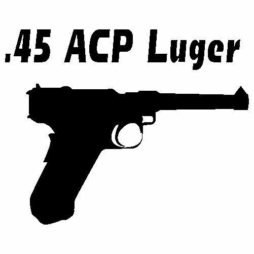 45 ацп люгер