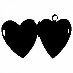 Медальон сърце